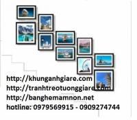 khung hình cho thực đơn-khung hình cưới để bàn-khung hình cưới 60x90