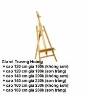 Giá vẽ gỗ-giá vẽ tranh cho bé-giá vẽ tranh bằng gỗ