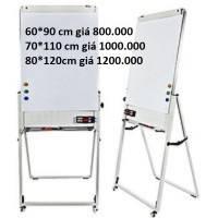 Bán bảng flipchart chữ u (660x1000mm) chân gấp silicon fb-66 tại hcm