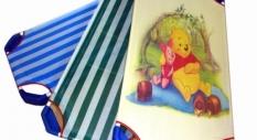 Giường ngủ,giường lưới cho bé mầm non mẫu giáo in hình chuột