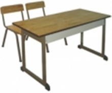 Bàn ghế học sinh 2 chỗ ngồi dành cho tiểu học