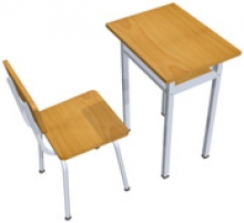 Báo giá bàn ghế học sinh 1 chỗ ngồi