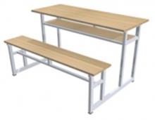 Bàn ghế học sinh 4 chỗ ngồi