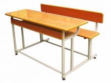 Bàn ghế học sinh gỗ tự nhiên cao cấp