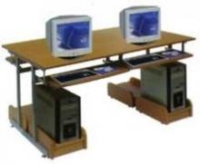 Bàn để máy vi tính giá rẻ gỗ tự nhiên