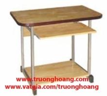 Bàn ghế máy vi tính khung sắt gỗ ép công nghiệp giá rẻ hcm