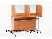Bàn ghế máy vi tính gỗ ép công nghiệp