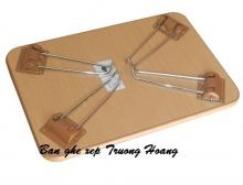 Bàn xếp học sinh gỗ cao su ghép 18 mm ,kích thước 40*60cm