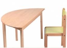 bàn ghế gỗ mầm non 14