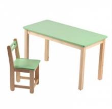 bàn ghế gỗ mầm non 12
