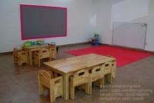 bàn ghế gỗ mầm non 9