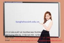 Bảng trắng treo tường giá rẻ dành cho học sinh sinh viên
