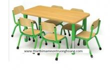 Bàn ghế mẫu giáo 06