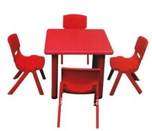 bàn ghế mẫu giáo nhựa 04