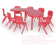 bàn ghế mẫu giáo nhập khẩu 04