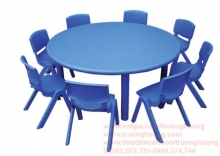 Bàn ghế mầm non mẫu giáo 02