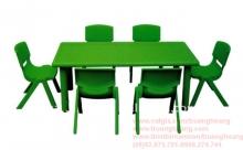 bàn ghế nhựa cho bé mẫu giáo 4