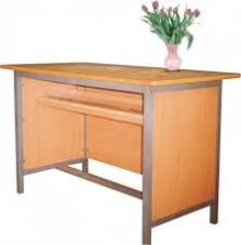 Mẫu bàn ghế giáo viên 03