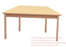 bàn ghế mẫu giáo bằng gỗ 01