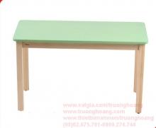 bàn ghế mẫu giáo bằng gỗ 04