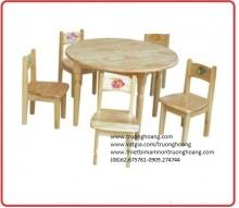 bàn ghế học sinh mẫu giáo hòa phát
