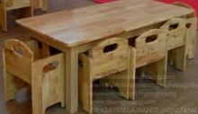 bàn ghế học sinh mẫu giáo hòa phát 1