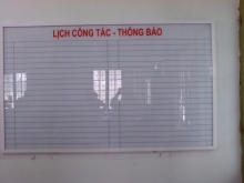 Bảng kính treo tường,kích thước 1200x1000mm