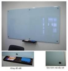 Bảng kính viết bút giá rẻ 1200x3000mm