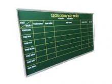 Bảng lịch công tác tuần kích thước 1200 x 2200 mm