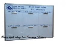 Giá bảng lịch công tác - bảng lịch văn phòng kích thước 1200 x 2100 mm