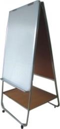 bảng kẹp giấy đánh máy chân inox kích thước 0,8x1,2m