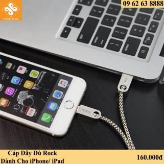 Cáp Dây Dù Rock Dành Cho iPhone / iPad