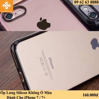 Ốp Silicon Không Ố Màu Dành Cho iPhone 7 / 7+