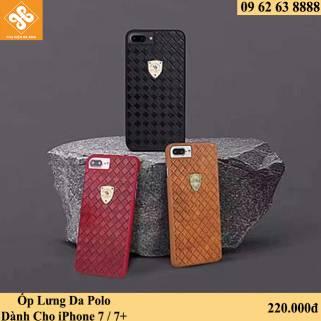 Ốp Lưng Da Polo Dành Cho iPhone 7 / 7+