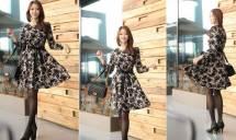 Váy liền thân Hàn Quốc dressroom 28796