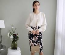 Áo sơ mi nữ Hàn Quốc esther 2488