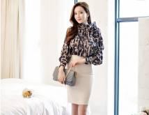 Áo sơ mi nữ Hàn Quốc esther 2886
