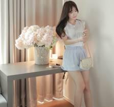 Áo sơ mi nữ Hàn Quốc Fiona m2001