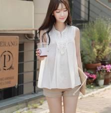 Áo sơ mi nữ Hàn Quốc Fiona m2027