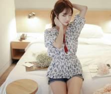 Áo sơ mi nữ Hàn Quốc Fiona m2031