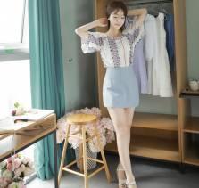 Áo sơ mi nữ Hàn Quốc Fiona m2037