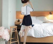 Áo sơ mi nữ Hàn Quốc Fiona m2040