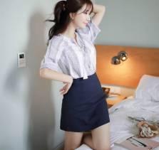 Áo sơ mi nữ Hàn Quốc Fiona m2032