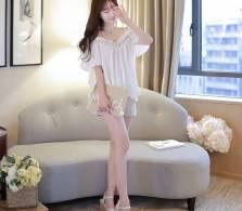 Áo sơ mi nữ Hàn Quốc Fiona m2056