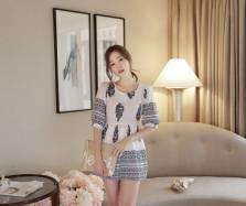 Áo sơ mi nữ Hàn Quốc Fiona m2067