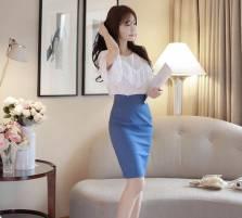 Áo sơ mi nữ Hàn Quốc Fiona m2058