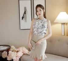 Áo sơ mi nữ Hàn Quốc Fiona m2069