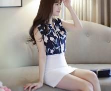 Áo sơ mi nữ Hàn Quốc Fiona m2060