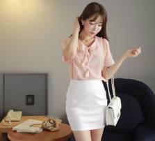 Áo sơ mi nữ Hàn Quốc Fiona m2073