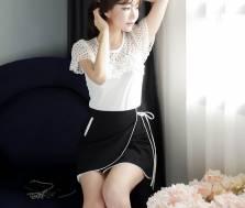 Áo sơ mi nữ Hàn Quốc Fiona m2085